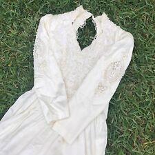 Vintage Victorian Style Jessica McClintock Gunne Sax Wedding Dress