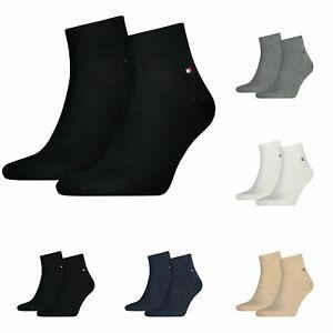 Tommy Hilfiger 2er 4er 6er 8er 12er Pack Paar Business Quarter Sneaker Socken
