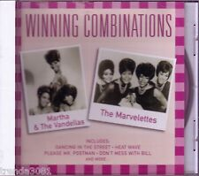 MARTHA & VANDELLAS MARVELETTES Winning Combination CD 50s HEAT WAVE BEECHWOOD
