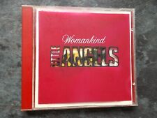 LITTLE ANGELS WOMANKIND PRINTED RED JEWEL CASE 3 TRACK CD SINGLE EXC