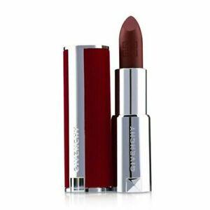 Givenchy Le Rouge Deep Velvet Lipstick - # 37 Rouge Graine 3.4g Lip Color NWOB