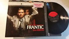 ENNIO MORRICONE Frantic OST LP Elektra soundtrack PROMO 60782-1 US 1988 polanski
