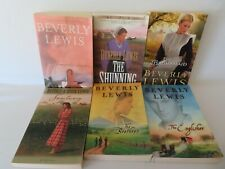 LOT Beverly Lewis 6 Paperback Novels