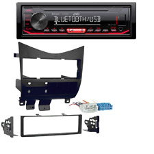 JVC Bluetooth Car Radio Stereo Single DIN Dash kit 2003-2007 Honda Accord