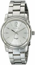 Invicta Womens Angel Analog Display Swiss Quartz Silver Watch