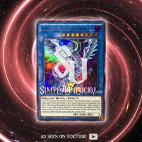 BLUE-EYES CHAOS DRAGON | Ultra Rare | LED3-EN001 White Dragon Abyss YuGiOh