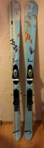 Fun Carver Twin Tip Salomon Länge ca. 165 cm mit Bindung  + Skiservice