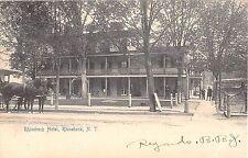 1905 Rhinebeck Hotel Rhinebeck NY post card Dutchess County