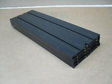 """4- Aurora T-jet #1517 9"""" Straights w/No Lines for Ho slotcar race track layouts"""