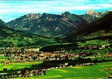 Bergstadt Sonthofen / Allgäu, Ansichtskarte , 1986 gelaufen