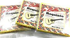 Requinto Cuerdas de La Bella 3 Juegos String Set - 3 sets  de 6 Cuerdas - Nylon