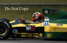 Johnny herbert lotus F1 saison 1992 photographie