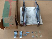 1962,1963,1964,1965 Nova, Chevy 2 NOS rear bumper guards in GM box 985302