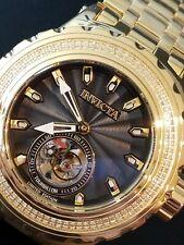 Invicta Reserve Subaqua Specialty Ltd Ed Tourbillon Diamond 18k Gold Platd Watch