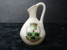 Carlton China Model of a Jug with City of Wells Crest.