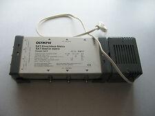 Olympic 5 x 6 N  Multischalter /Multiswitchfür 1 Satellit 2LNB und 6 Teiln.gebr.