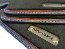 2004-2013 MP velluto tappetini Logo Performance per BMW 6er e63 COUPE ab Bj