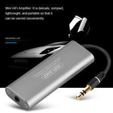 Portable 3.5mm Audio HIFI Headphone Amplifier Stereo Earphone AMP for Smartphone