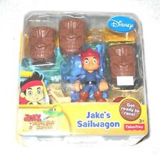 Jake: Never Land Pirates - Jake's Sailwagon - (MISB) - 100% complete (Disney)