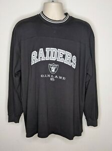 Vintage Oakland Raiders Embroidered Sweatshirt Pullover Size XL NFL Football