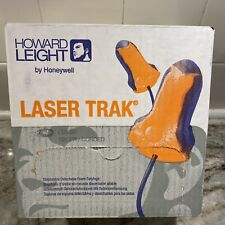 125 Pairs Howard Leight Lt 30 Laser Trak Corded Ear Plugs 33db Rated Earplugs