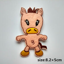 Strong Horse Embroidered Iron On Patch Sewing Coat Jeans Kids Applique