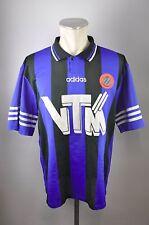 Club Brugge Trikot Gr. L Adidas Jersey 1995/1996 Home 90er vintage VTM