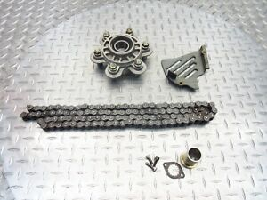 2003 02-06 Ducati Monster 620 M620 M600 Lot Cover Rear Sprocket Flange Chain