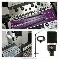 Studio: Mac Pro + UAD Apollo + Neumann Mic + Beats by Dre + Mixer + 700 Plugins