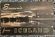 1930 Souvenir from Iceland: Pictures & Captions by Jonsson and Josepsson