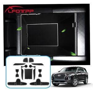 LFOTPP Car Gate Slot Mats Non-slip Cup Pad Accessories For 2020 Hyundai Palisade