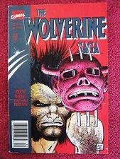 WOLVERINE  SAGA   VOL 1  # 3  DEC  1989  A  MARVEL  COMIC