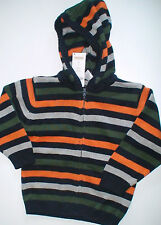 NWT Gymboree Football Champ Hooded Cardigan Sweater Boy's Size 18-24M