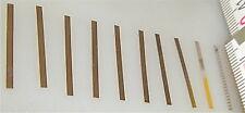 10 Stück Richtfeder Fleischmann 6522 passend Kupplung 6516 6517 6521 6524 LF2 å*