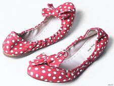 new $450 PRADA MIU MIU polkadot BOW flats shoes 41 11 - super cute