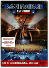 Iron Maiden , En Vivo!  ( Limited Edition Steelbook Deluxe 2_DVD )