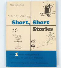 Short Stories Vol 1 Sullivan Reading Books 5-8 Exercises in Content Analysis