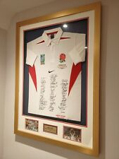 More details for signed england rugby jersey - rwc champions 2003. limited edition