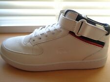 Lacoste Turbo 116 1 trainers shoes sneaker white leather uk 8 eu 42 us 9 NEW+TAG