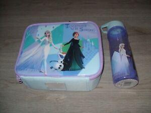 Disney Frozen 2 Lunch Bag And Bottle (600ml) Set - NEW