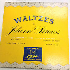 Waltzes By Johann Strauss LLP10 London 33RPM 031617RR