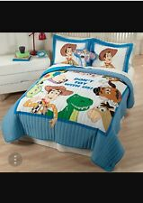 Walt Disney TOY STORY Twin Size bedding set Quilt Sham Sheets Pillow Case