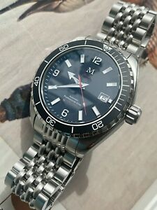 """Divers Sports watch Automatic """"marlinwatch"""" 43.5mm LIMITED EDITION 🇬🇧🐟"""