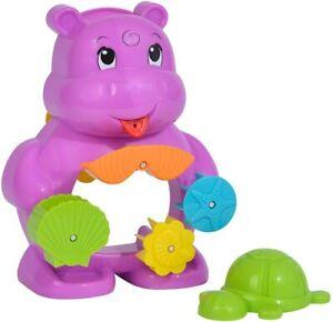 Simba 104010111 - ABC Bade Nilpferd Wasserspielzeug Kleinkinder ab 1 Jahr