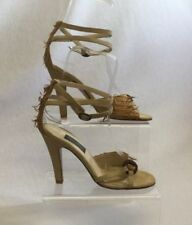 Suede Strappy, Ankle Straps Heels for Women