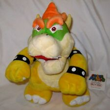 "Nintendo Super Mario Brothers Bowser 10"" Soft Plush Stuffed Animal-NEW!"