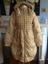 Ermanno Scervino coat down & feathers bubble exquisite  size 40 uk 8  fits 10 12