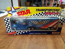 Matchbox 1994 Super Star Transporters Series II ~ Family Channel Racing Team