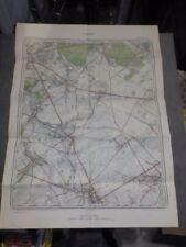Carte d'état major Militaire GIVRY HARMIGNIES SAINT-SYMPHORIEN 1947 - 1/20.000