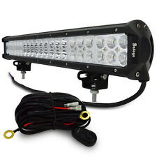 20inch 126W CREE LED LIGHT BAR Combo Offroad DRIVING LAMP 4WD WORK ATV 120W 180W